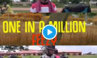 VIDEO: Feezy Behind the scene - Making of One in a Million official video [Download mp4]