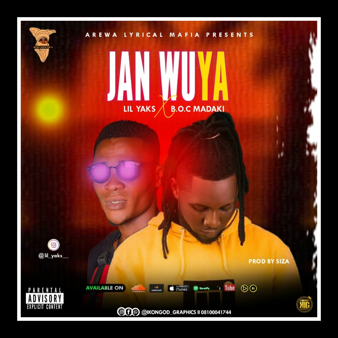 Ent. NEWS: Lil Yaks is about to release his new song with Boc Madaki titled Jan wuya