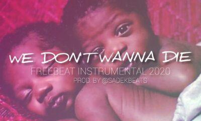 FREEBEAT: We Don't Wanna Die - Free Instrumental beat 2020 [Prod. Sadekbeats]