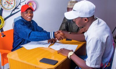 Ent. NEWS: Hu2boy Signs With Abimavibes PR Management as his official Manager