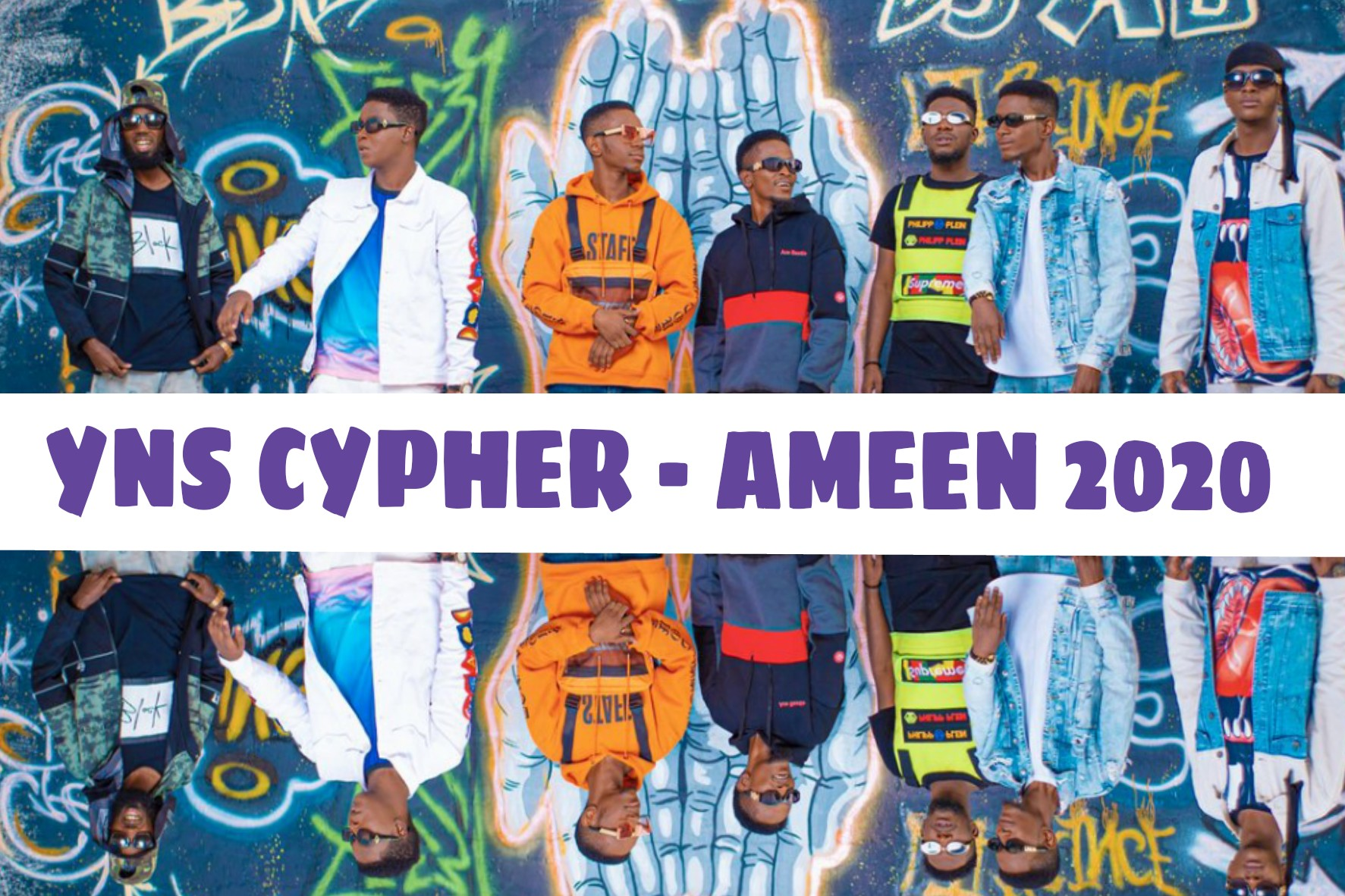 Ent. NEWS: Yaran North Side (YNS) Announced 16th Dec as a Date Releasing Their Cypher titled - AMEEN 2020 (Watch Video Teaser)