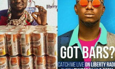 Ent. NEWS: Wax J emerged as a Winner of Maltina Rap Challenge Hosted By DJ AB on Liberty Radio KD