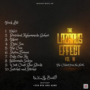 Tracklist Nexcezz BeatZz - The Lazarus Effect VI (The Coldest From The North)