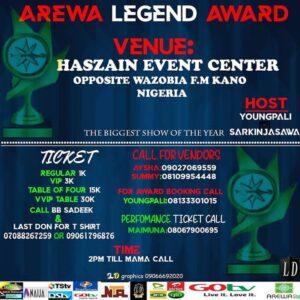 Biggest Arewa show Xmas Award Dj Ab Classiq Boc