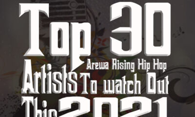 Top 30 Arewa Rising Hip Hop artists to Watch out This 2021 Dj Ab ClassiQ Boc Madaki Bash Neh Pha