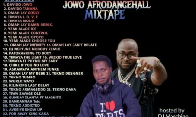 DJ MIX: Cruise Party JOWO Afro-Dancehall Mixtape 2021 [Hosted By DJ MOSCHINO] Davido Wizkid Shatta Wale