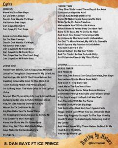 Boc Madaki Dan Gaye Lyrics ClassiQ Ice Prince Dj ab