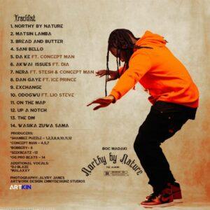 Download mp3 Boc Madaki Released his Album's Artcover & Tracklist - Northy By Nature