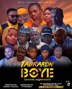 BREAKING: TY Shaban Set to release his Musical Hausa Movie on Youtube - Tauraron Boye (Hidden Star)