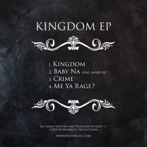 KINGDOM tracklist FEEZY DJ AB YNS