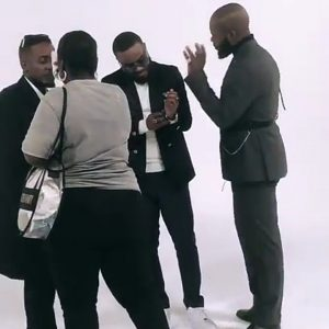 Ent. NEWS: What did you expect ? Kheengz with Falz & M I Abaga Shooting New Video