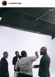 Kheengz Falz Video Director shot