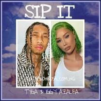 MUSIC: Iggy Azalea Feat. Tyga - Sip It Download mp3