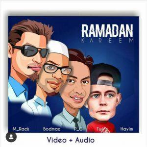 AUDIO + VIDEO: Hayim Feat. M Rack x PG Bodmax & Twins Marcopolo - Ramadan Cypher