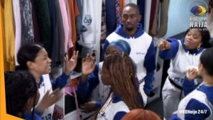 BBN6: Big Brother Naija is Gettting Hot As NINI & PERE Fight Together (Shine Your Eye)