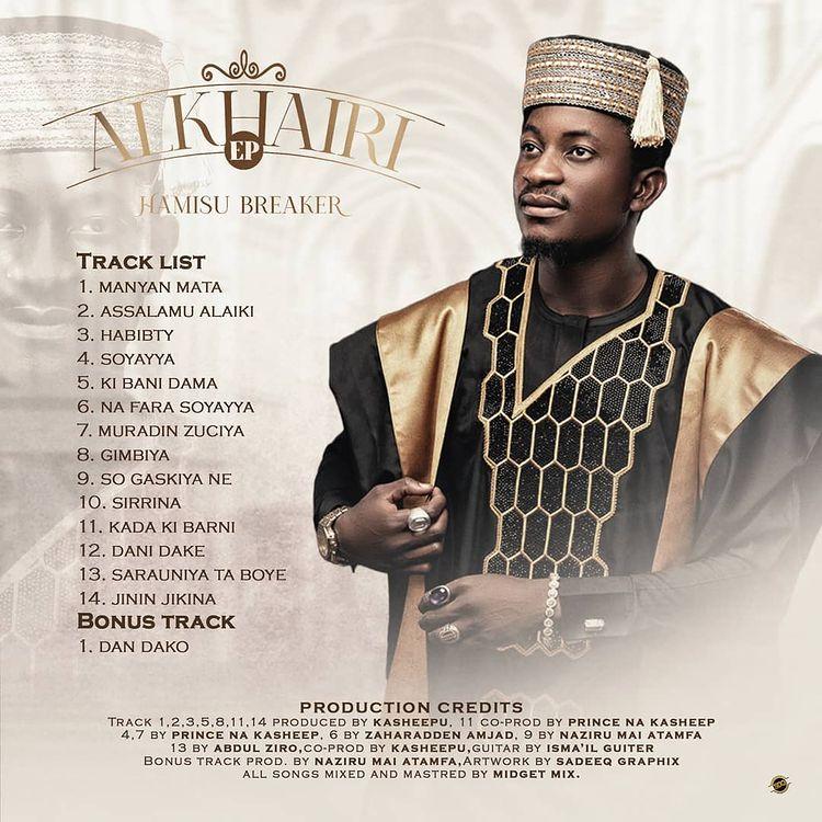 MUSIC: Hamisu Breaker - Gimbiya Mp3 Download