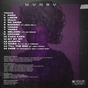 Morell New Album Mansa Tracklist Dj AB