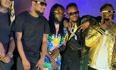 BREAKING: DJ AB, BOC Madaki, Yanga Boii, Soja Boy, Blaq Shyne & Dj Cinch Were Spotted Last Night Shooting - Masifa