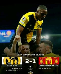 LIVE: Manchester United Vs Young Boys 1 – 2 Extended Highlights & All Goals Download HD Video 2021