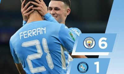 LIVE: Manchester City Vs Wycombe 6-1 Download All Goals Highlights Video 2021