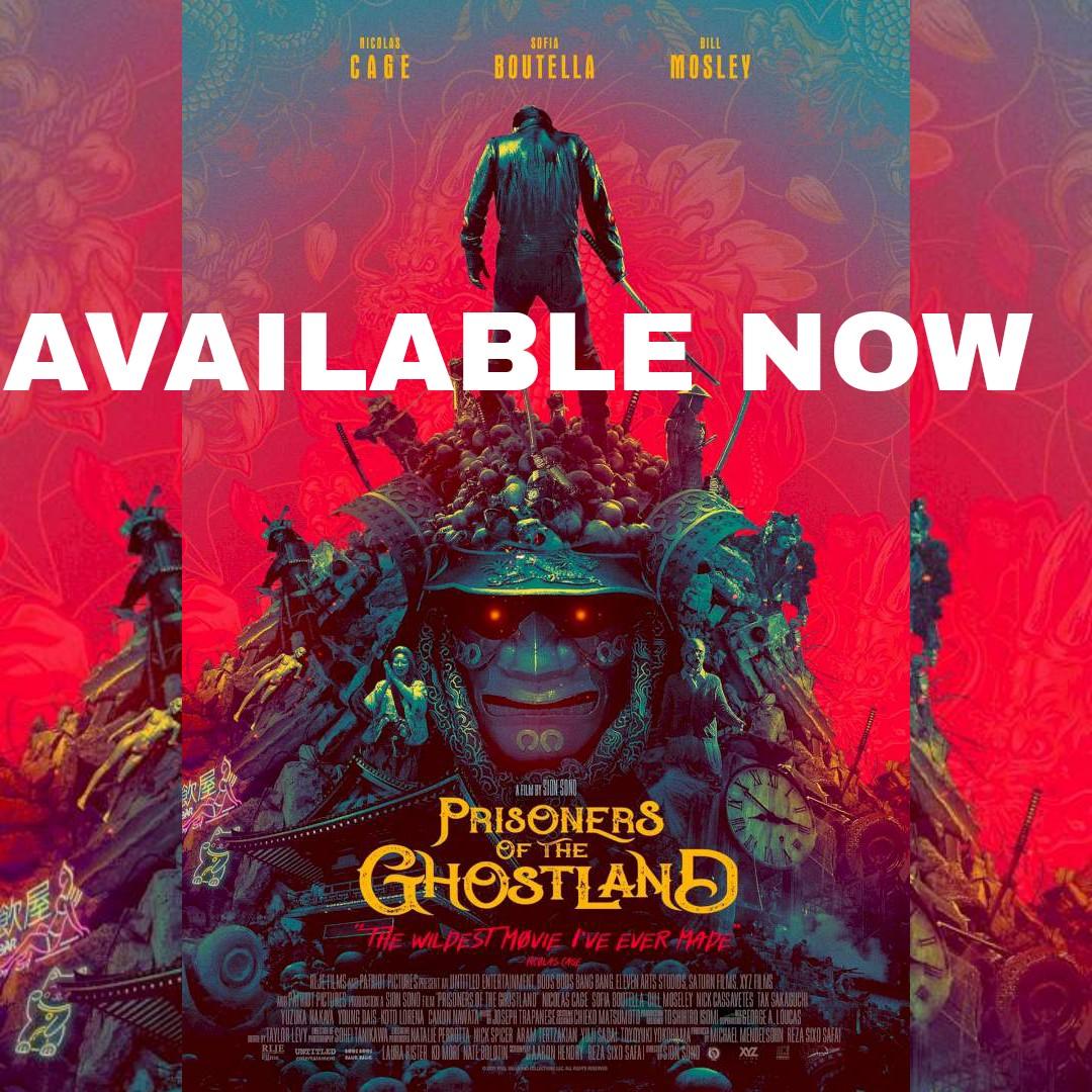 MOVIE: Prisoners of the Ghostland (2021) - HD MP4 Video + English Subtitle