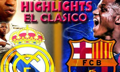 EL CLASICO 2021: Real Madrid Vs Barcelona Live Streaming - Download All Goals Highlight