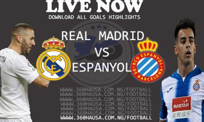 LIVE: Real Madrid Vs Espanyol – Download All Goals Highlights Today 2021